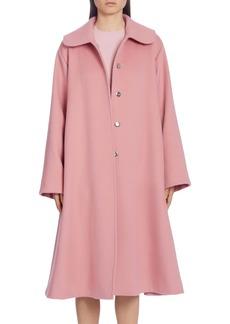 Dolce & Gabbana Dolce&Gabbana Belted Woolen A-Line Coat