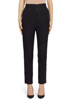Dolce & Gabbana Dolce&Gabbana Brocade Slim Pants