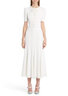 Dolce & Gabbana Dolce&Gabbana Button Midi Dress