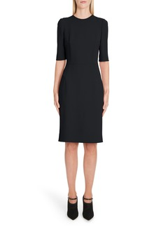Dolce & Gabbana Dolce&Gabbana Cady Sheath Dress