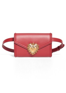 Dolce & Gabbana Dolce&Gabbana Devotion Leather Belt Bag