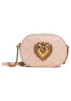 Dolce & Gabbana Dolce&Gabbana Devotion Matelassé Leather Bag