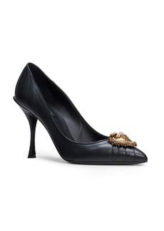 Dolce & Gabbana Dolce&Gabbana Devotion Pointy Toe Pump (Women)