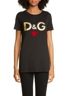 Dolce & Gabbana Dolce&Gabbana D&G Heart Graphic Tee