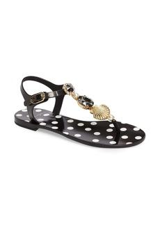Dolce & Gabbana Dolce&Gabbana Embellished Jelly Sandal (Women)