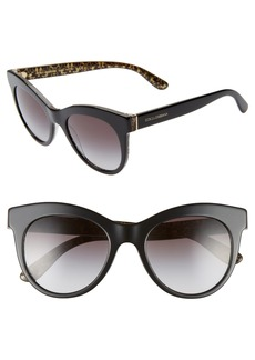 Dolce & Gabbana Dolce&Gabbana Essential Gradient 51mm Sunglasses