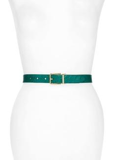 Dolce & Gabbana Dolce&Gabbana Filata Caiman Leather Belt