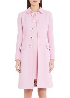 Dolce & Gabbana Dolce&Gabbana Floral Button Coat