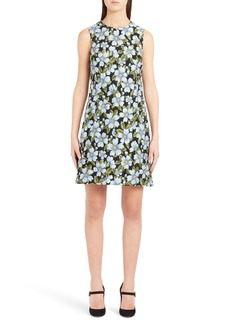 Dolce & Gabbana Dolce&Gabbana Floral Jacquard Shift Dress