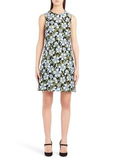 Dolce & Gabbana Dolce&Gabbana Floral Jacquard Shift Dress