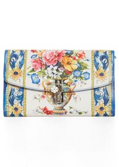 Dolce & Gabbana Dolce&Gabbana Floral Pouchette Clutch