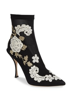 Dolce & Gabbana Dolce&Gabbana Floral Sock Bootie (Women)