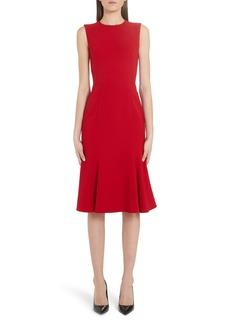 Dolce & Gabbana Dolce&Gabbana Fluted Hem Dress