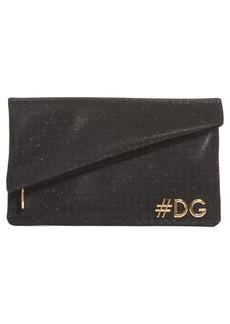 Dolce & Gabbana Dolce&Gabbana Hashtag Foldover Clutch