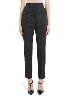 Dolce & Gabbana Dolce&Gabbana High Waist Brocade Pants