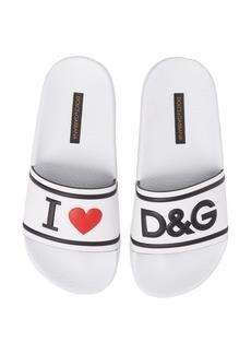 Dolce & Gabbana Dolce&Gabbana I Love DG Slide Sandal (Women)