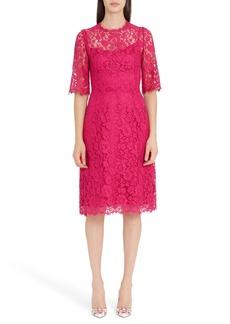 Dolce & Gabbana Dolce&Gabbana Lace A-Line Dress