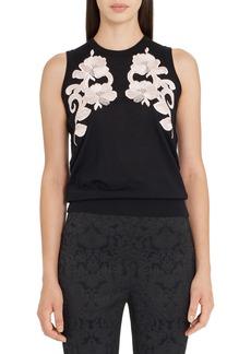 Dolce & Gabbana Dolce&Gabbana Lace Detail Cashmere Shell