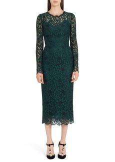 Dolce & Gabbana Dolce&Gabbana Lace Pencil Dress