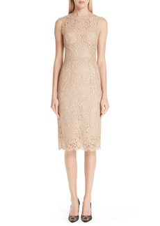 Dolce & Gabbana Dolce&Gabbana Lace Pencil Dress