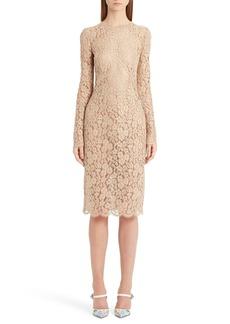 Dolce & Gabbana Dolce&Gabbana Lace Sheath Dress