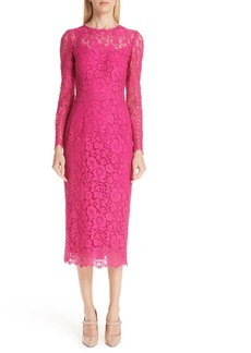 Dolce & Gabbana Dolce&Gabbana Lace Sheath Dress