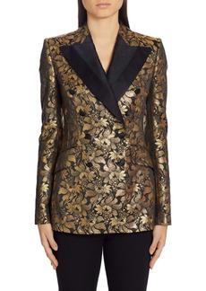 Dolce & Gabbana Dolce&Gabbana Lamé Silk Jacquard Blazer