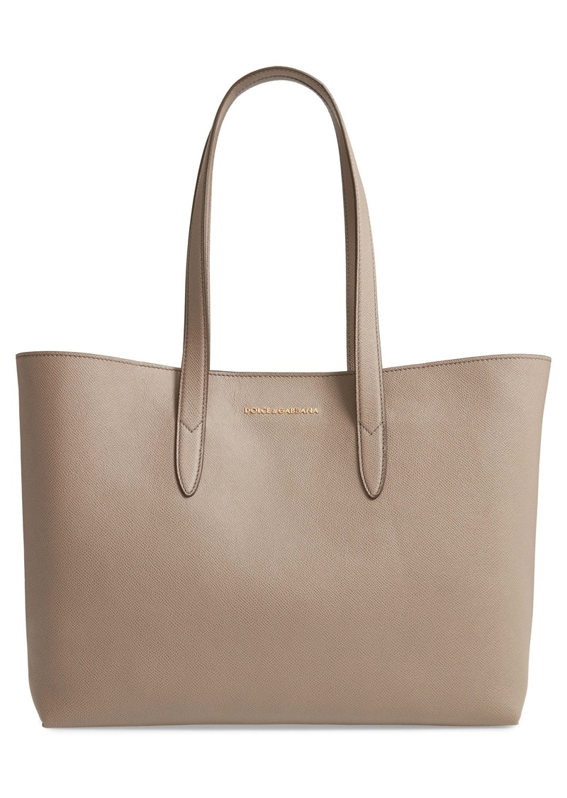 Dolce & Gabbana Dolce&Gabbana Leather Shopper