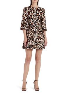 Dolce & Gabbana Dolce&Gabbana Leopard Print Minidress