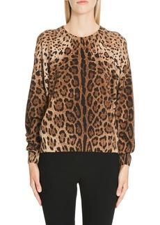 Dolce & Gabbana Dolce&Gabbana Leopard Print Top