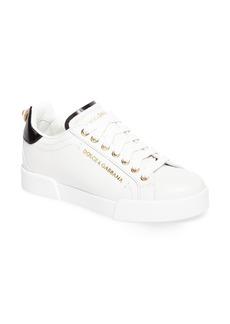 Dolce & Gabbana Dolce&Gabbana Logo Embellished Sneaker (Women)