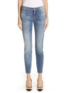 Dolce & Gabbana Dolce&Gabbana Logo Plaque Skinny Jeans