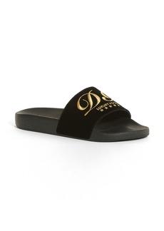 Dolce&Gabbana Logo Slide Sandal (Women)