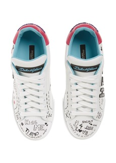 Dolce & Gabbana Dolce&Gabbana Love Lace-Up Sneaker (Women)