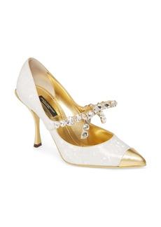 Dolce & Gabbana Dolce&Gabbana Madre Perla Pump (Women)