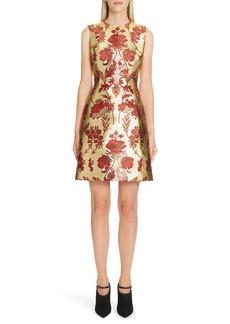 Dolce & Gabbana Dolce&Gabbana Metallic Jacquard A-Line Dress