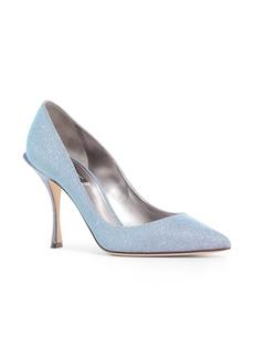 Dolce & Gabbana Dolce&Gabbana Metallic Pointy Toe Pump (Women)