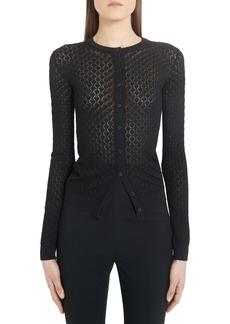 Dolce & Gabbana Dolce&Gabbana Open Knit Cardigan
