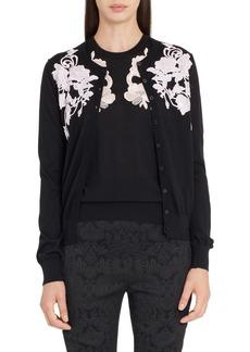 Dolce & Gabbana Dolce&Gabbana Placed Lace Cashmere Cardigan