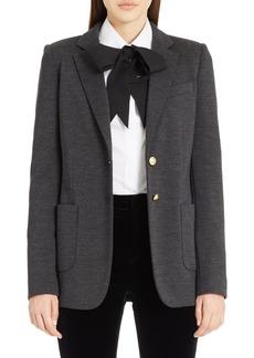 Dolce & Gabbana Dolce&Gabbana Punto Milano Wool Blazer