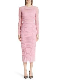 Dolce & Gabbana Dolce&Gabbana Ruched Tulle Body-Con Dress