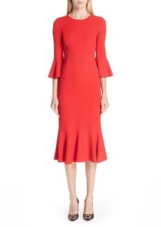 Dolce & Gabbana Dolce&Gabbana Ruffle Hem Dress