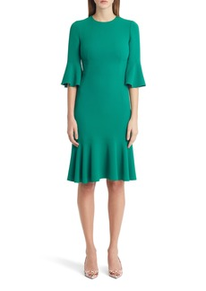 Dolce & Gabbana Dolce&Gabbana Ruffle Sleeve & Hem Dress