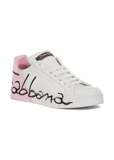 Dolce & Gabbana Dolce&Gabbana Script Logo Sneaker (Women)