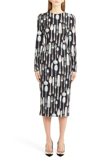 Dolce & Gabbana Dolce&Gabbana Silerware Sheath Dress