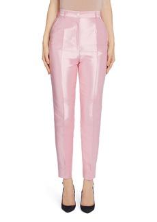 Dolce & Gabbana Dolce&Gabbana Slim Silk Mikado Pants
