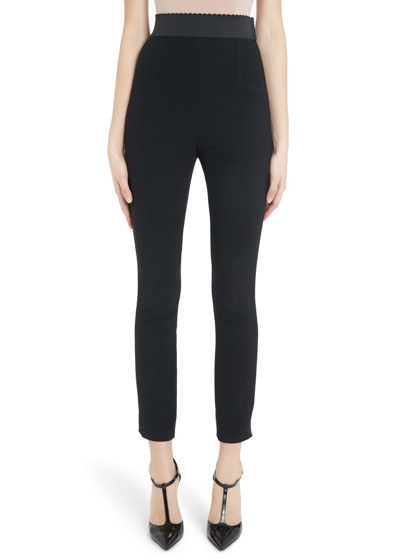 Dolce & Gabbana Dolce&Gabbana Slim Stretch Pants