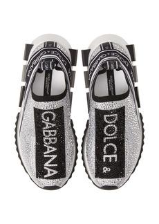 Dolce & Gabbana Dolce&Gabbana Sorrento Jeweled Logo Sneaker (Women)