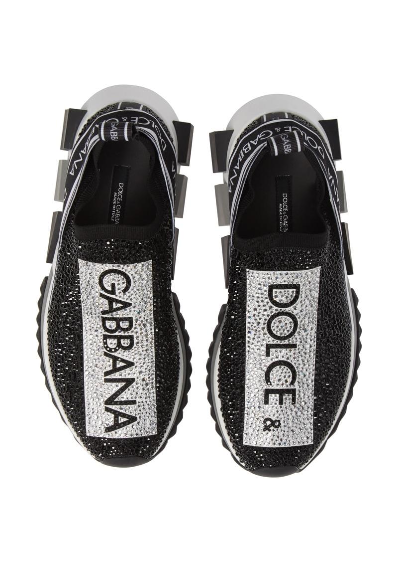 281c65adc Dolce & Gabbana Dolce&Gabbana Sorrento Jeweled Logo Sneaker (Women ...