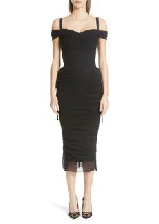 Dolce & Gabbana Dolce&Gabbana Stretch Tulle Dress